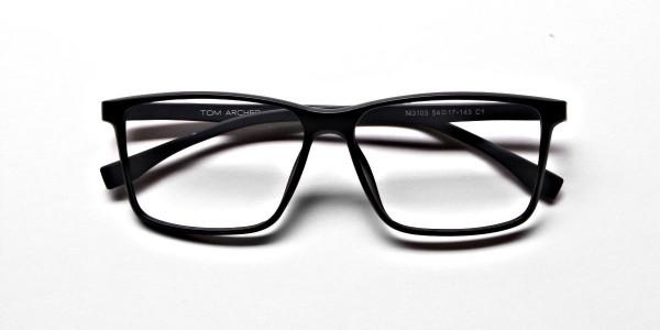 Black Matte Glasses -4
