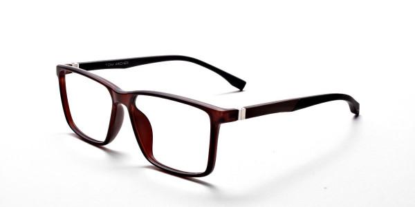Brown Matte Glasses -2