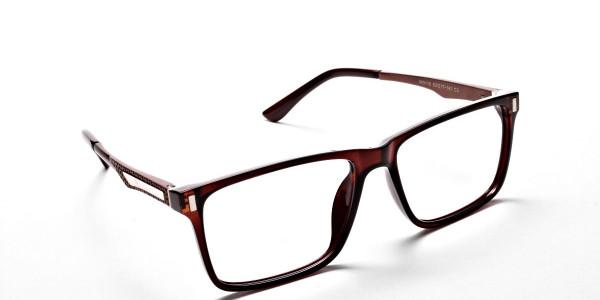 Handmade UK Brown Glasses -1