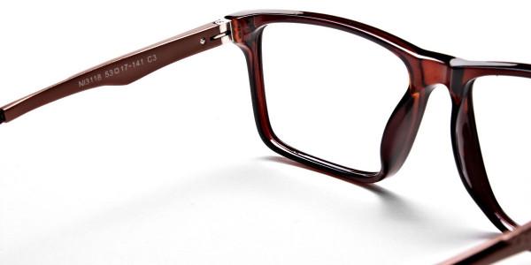 Handmade UK Brown Glasses -4