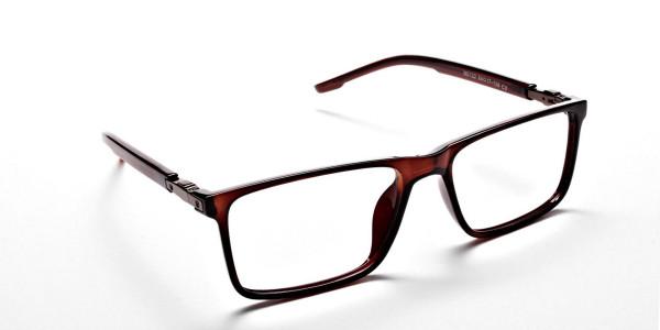Chocolate Brown Glasses -1