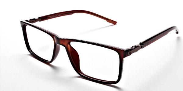 Chocolate Brown Glasses -2