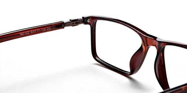Chocolate Brown Glasses -4