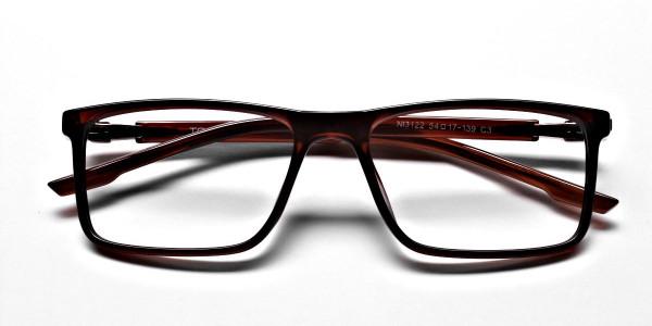Chocolate Brown Glasses -5