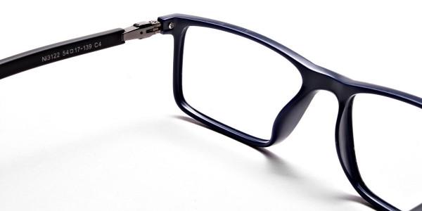 Black & Blue Computer Glasses -4