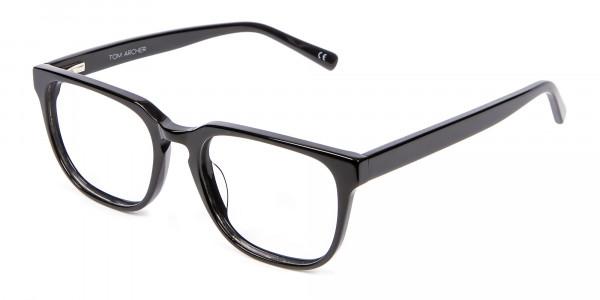 Cosmopolitan Black Glasses - 2