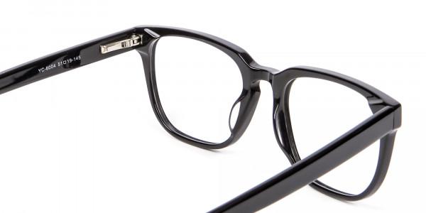 Cosmopolitan Black Glasses - 4