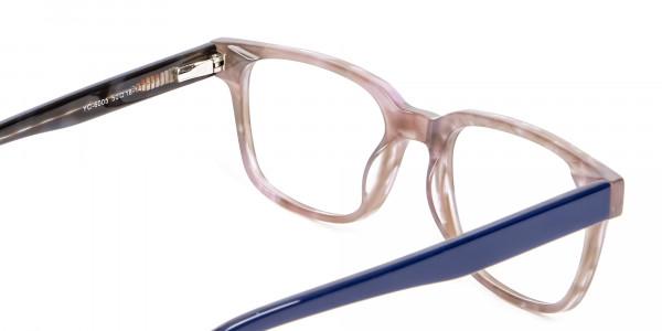 Gradient Brown with Dark Blue  - 4