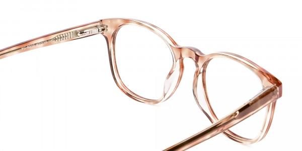 Havana Textured Designer Prescription Glasses - 6