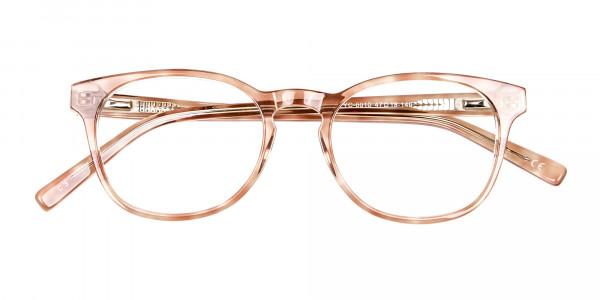 Havana Textured Designer Prescription Glasses - 5