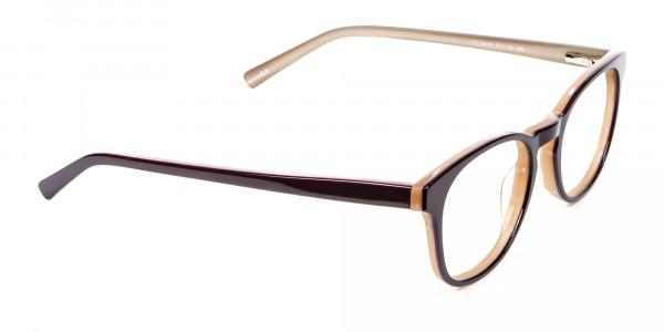 Black & Beige Reading Glasses -2