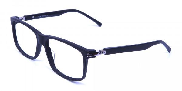 Super Flexible 360 Degree Bendable Glasses in Matte Black - 2