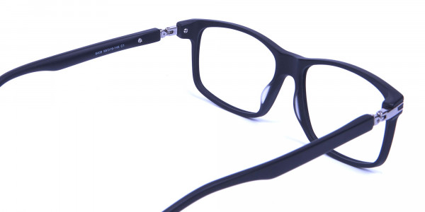 Super Flexible 360 Degree Bendable Glasses in Matte Black - 4