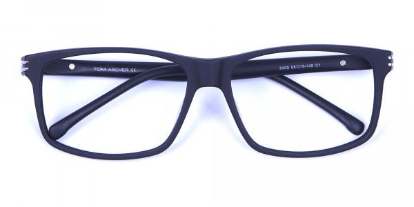Super Flexible 360 Degree Bendable Glasses in Matte Black - 5