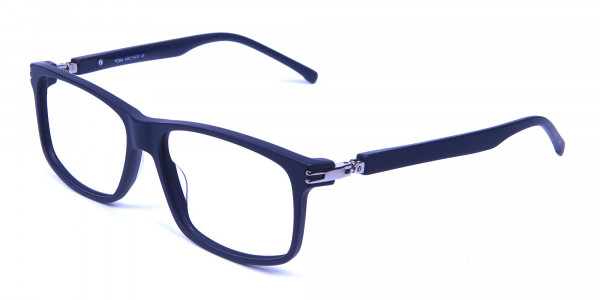 Light Weight Detail Crafted Glasses in Blue - 2