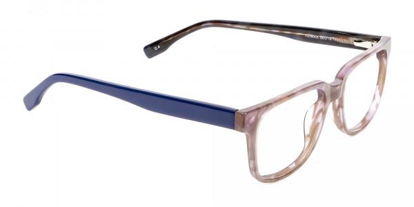 Gradient Brown with Dark Blue  - 1