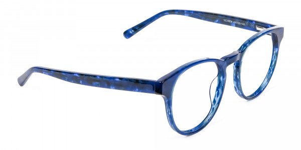 Marble Blue Frames - 1