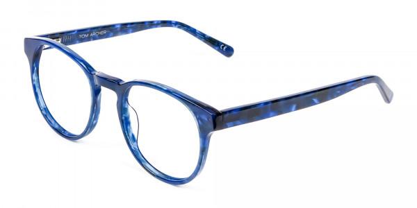 Marble Blue Frames - 2