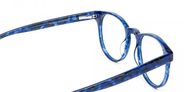 Marble Blue Frames - 4