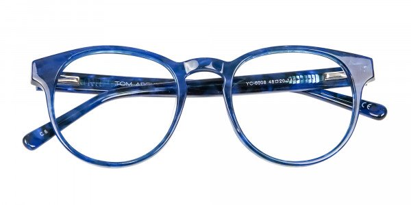 Marble Blue Frames - 5