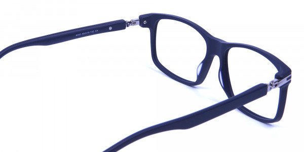 Light Weight Detail Crafted Glasses in Blue - 4