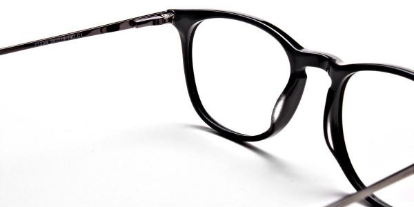 Black Round Glasses, Eyeglasses -5