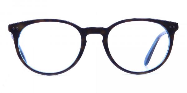 Multicolour Round Glasses -  Blue, Green & Brown Glasses