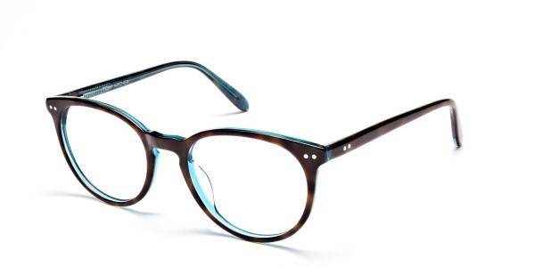 Blue, Green & Brown Glasses -2