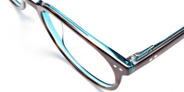 Blue, Green & Brown Glasses -5