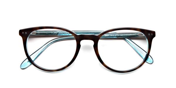 Blue, Green & Brown Glasses -6