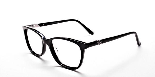Black Diamante Glasses -2