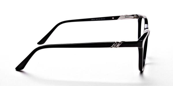 Black Diamante Glasses -3