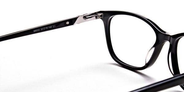 Black Diamante Glasses -4