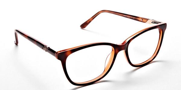 Maple Tortoiseshell Glasses with Diamante  -1