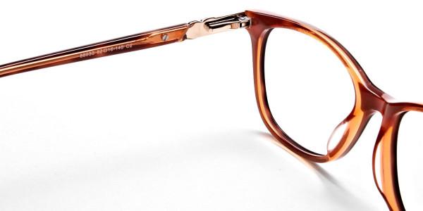 Maple Tortoiseshell Glasses with Diamante  -4
