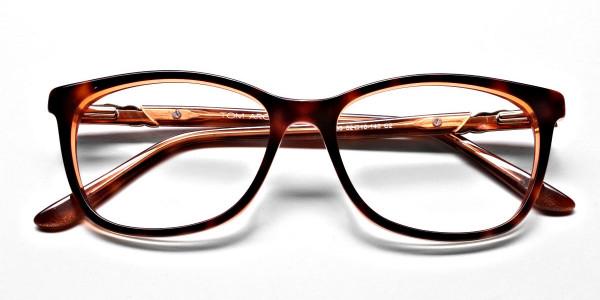 Maple Tortoiseshell Glasses with Diamante -6