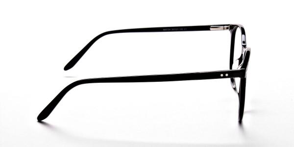 Black Round Glasses, Eyeglasses -3
