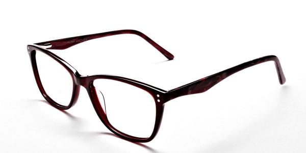 Red Retro Glasses -2