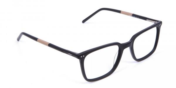 Black and Brown Pepper Eyeglasses  - 1