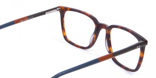 Havana & Tortoiseshell Charmer Glasses - 4