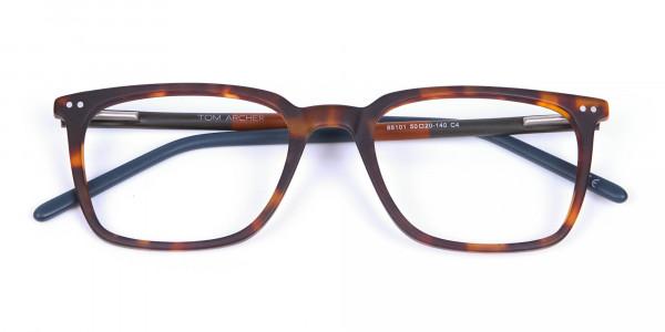 Havana & Tortoiseshell Charmer Glasses - 5