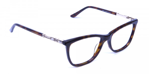 Tortoiseshell Glasses of Personality Look - 1