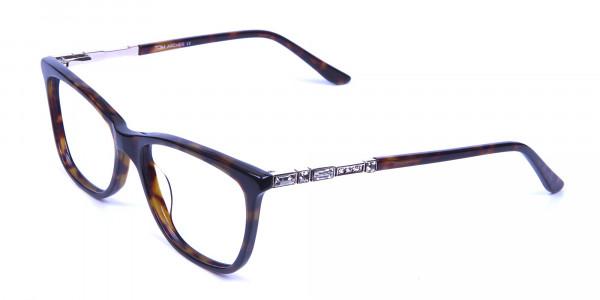 Tortoiseshell Glasses of Personality Look - 2