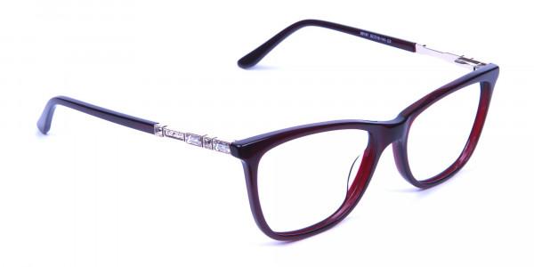 Modern Glasses in Dark Rain - 1