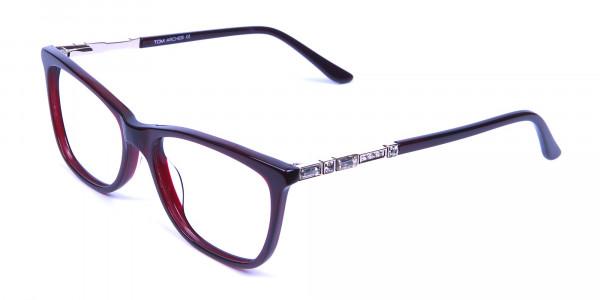 Modern Glasses in Dark Rain - 2