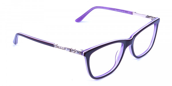 Lavender Purple Glasses - 1