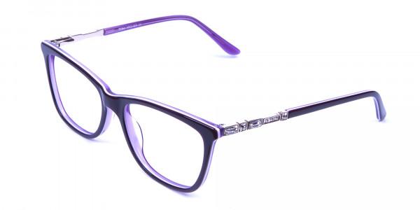 Lavender Purple Glasses - 2