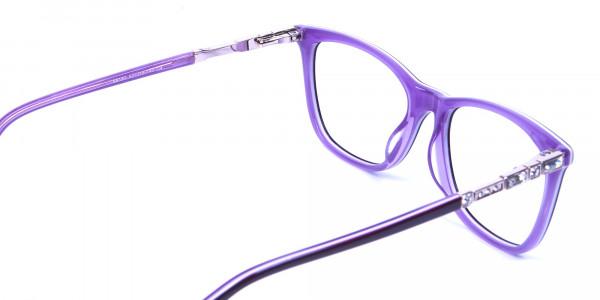 Lavender Purple Glasses - 4