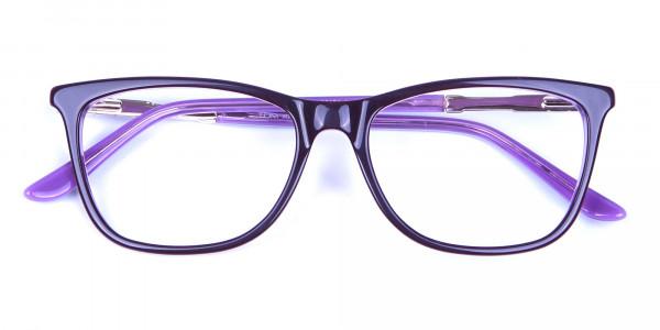 Lavender Purple Glasses - 5