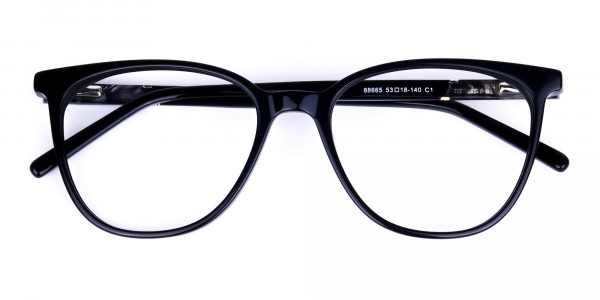black cat eye glasses -6
